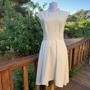 Ted Baker Cap Sleeve A Line Dress